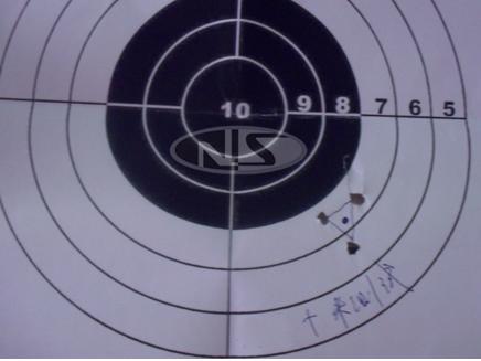 瞄准镜校准第二步 找准射击点中心  瞄准镜怎么调?